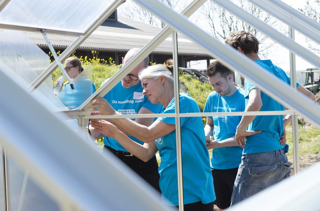 """Do something sweet"" Perfetti Van Melle bedankt vrijwilligers"
